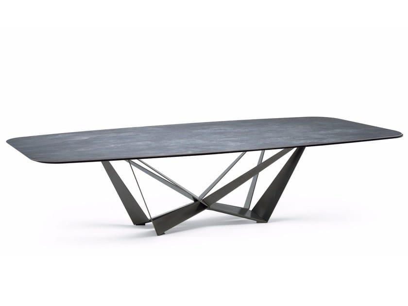 Rectangular ceramic table SKORPIO KERAMIK by Cattelan Italia
