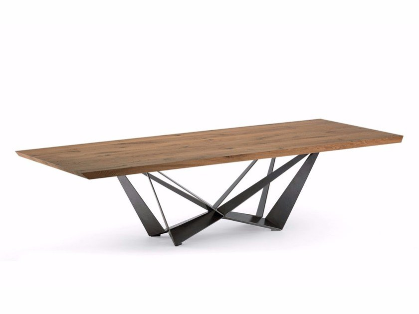 Rectangular wooden table SKORPIO WOOD - Cattelan Italia