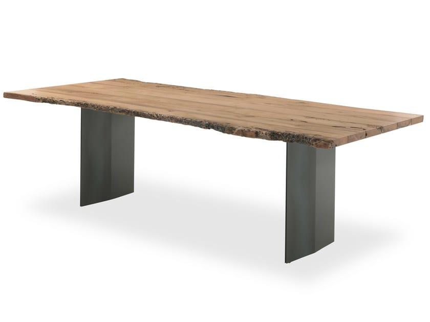 Rectangular briccola wood table SKY-NATURA BRICCOLA by Riva 1920
