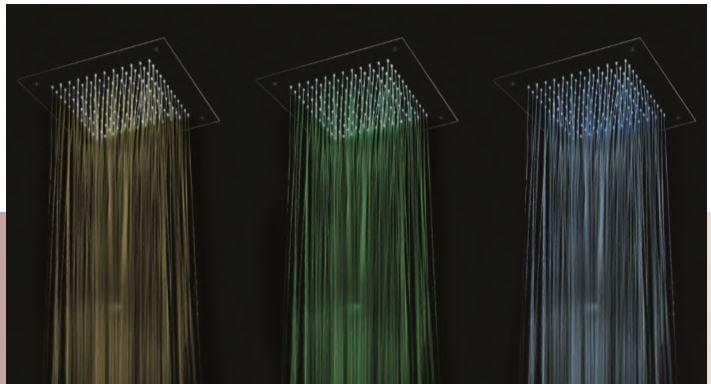 Soffione da soffitto in acciaio SHOWER HEAD | Miscelatore per doccia con soffione by INTERCONTACT