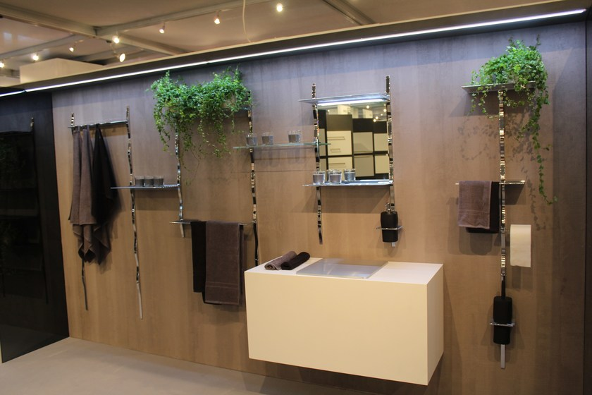 System Of Accessories For Bathroom Skyline Bathroom By Cosma