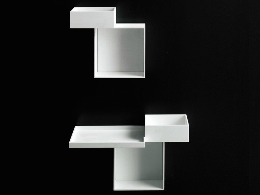Open suspended wall cabinet SKYLINE - Boffi