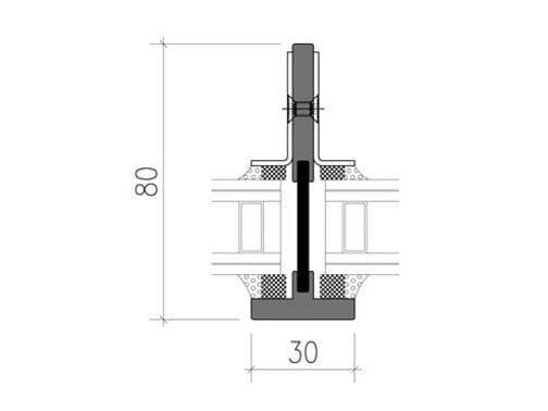 Steel thermal break window SL30-ISO® - PFT HEVO