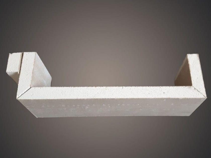 Gypsum ceiling tiles SLATS SELF by Profilgessi