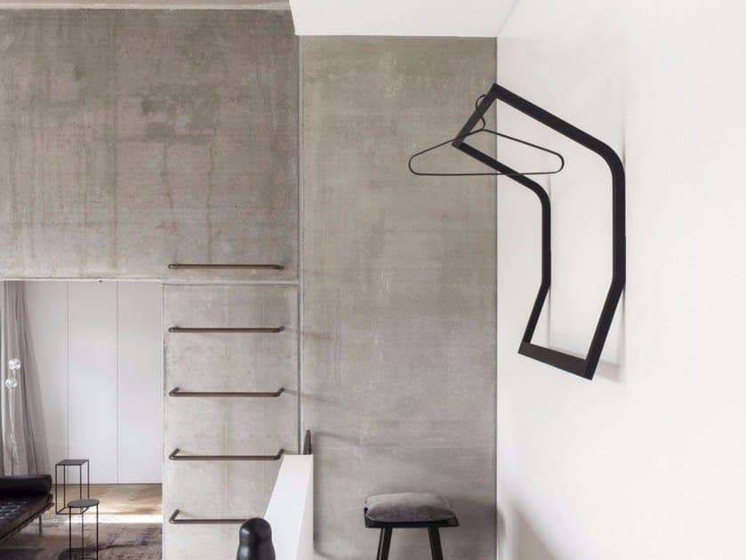 Wall-mounted wooden coat rack SLED - Schönbuch