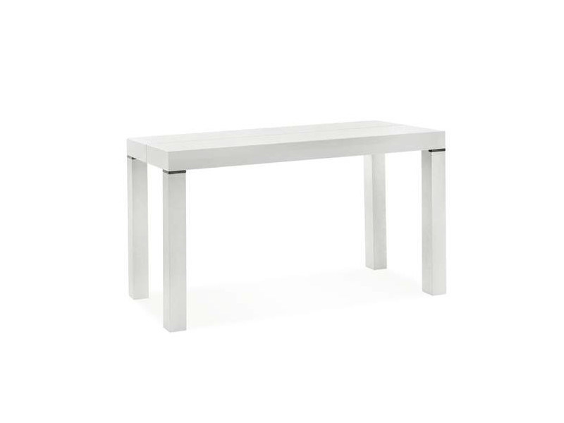 Extending rectangular laminate console table SLIDE | Console table - CREO Kitchens by Lube