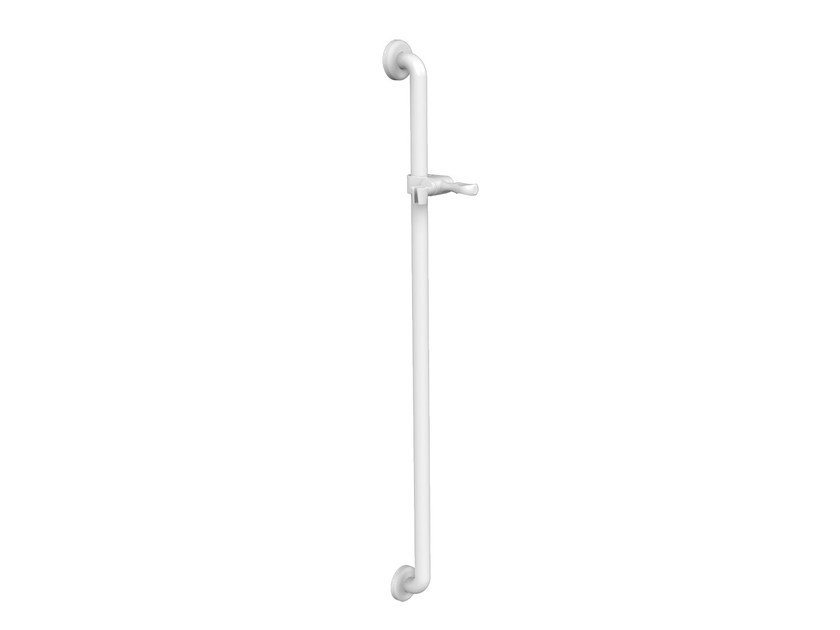 34 mm diameter white ABS rail with sliding bar Grab bar by PRESTO