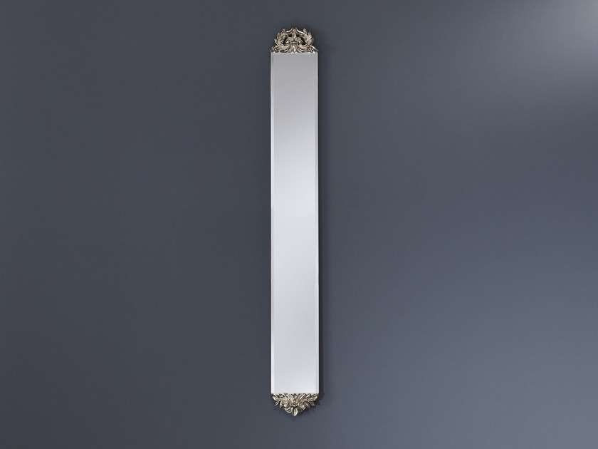 Classic style rectangular wall-mounted mirror SLIM CLASSIC - DEKNUDT MIRRORS