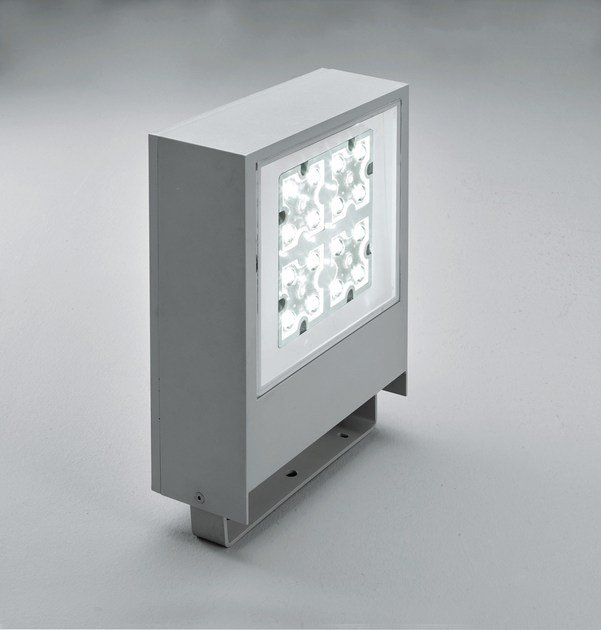 LED die cast aluminium Outdoor floodlight SLIM F.8302 - Francesconi & C.