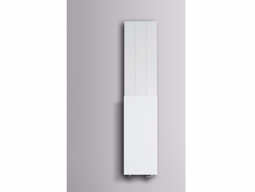 Dual energy wall-mounted radiator with towel warmer SLIM | Radiator - mg12