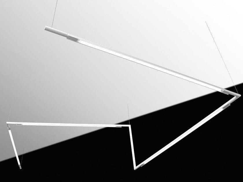 LED pendant lamp SLIM SYSTEM   Pendant lamp by FLUVIA