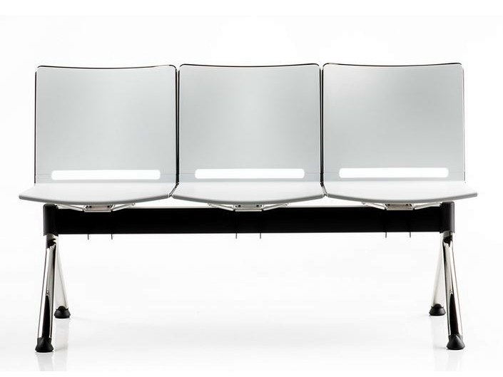 Freestanding plastic beam seating SLIM | Beam seating - D.M.