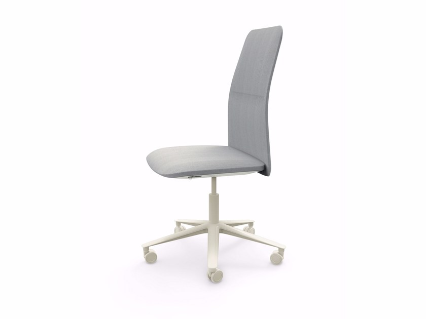 Swivel height-adjustable high-back chair SLIM TASK - 800 by Alias
