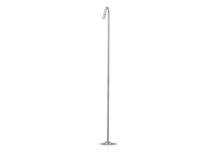 Floor standing stainless steel shower panel SLIMLINE 01 - JEE-O