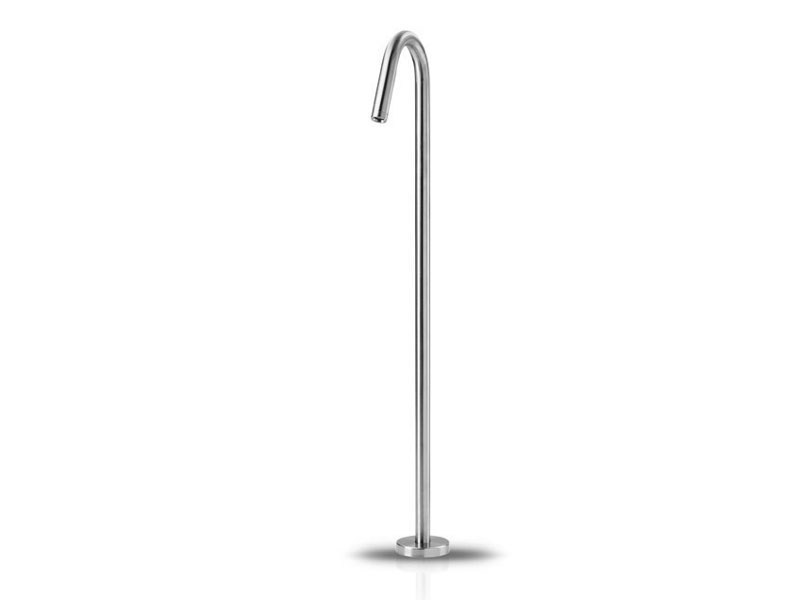 Floor standing stainless steel bathtub tap SLIMLINE BATH - JEE-O