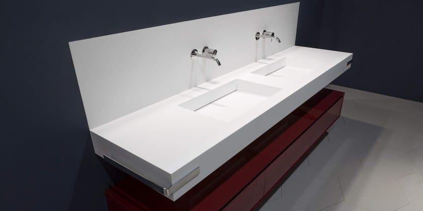 Lavabo in Corian® SLOT - Antonio Lupi Design
