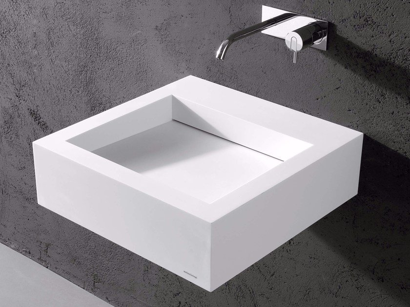 Corian® washbasin SLOT - Antonio Lupi Design®