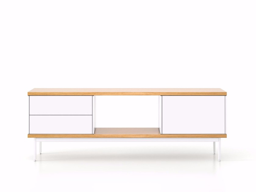 Sideboard with doors with drawers SLT015 | Sideboard with drawers - Punt