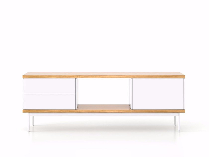 Sideboard with doors with drawers SLT015 | Sideboard with drawers by Punt