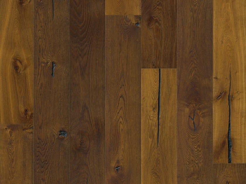Oak parquet SMOKED MANSION OAK by Pergo