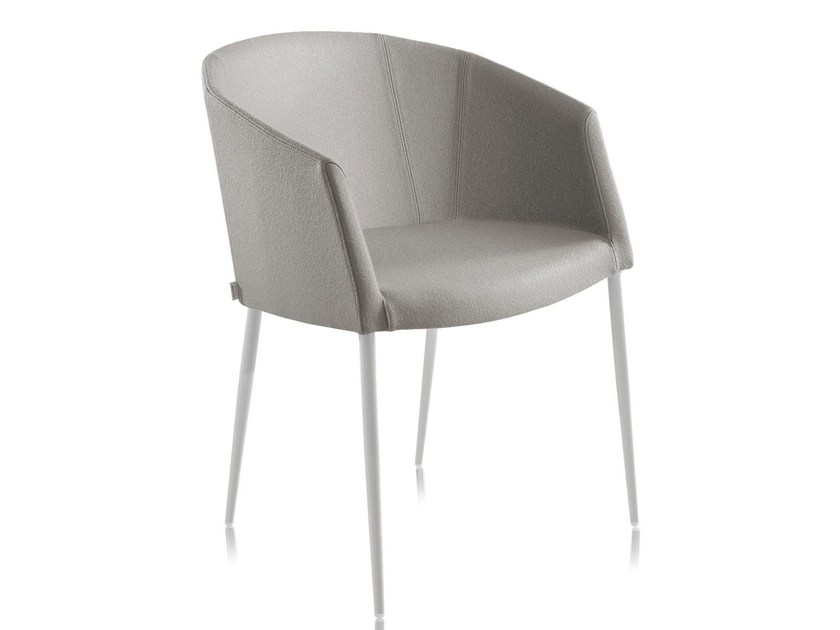 Wool chair with fire retardant padding SO-CHIC P - CHAIRS & MORE