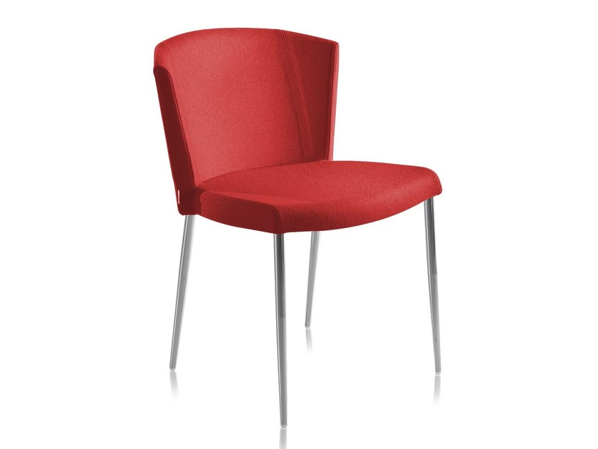 Wool chair with fire retardant padding SO-CHIC S - CHAIRS & MORE