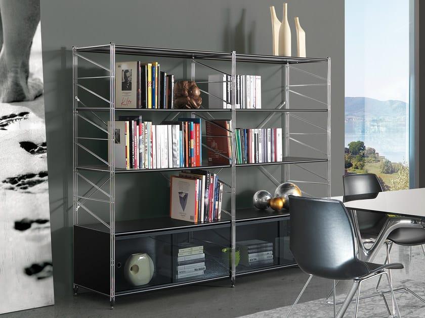 Sectional bookcase SOCRATE | Bookcase by Caimi Brevetti