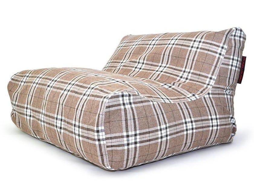 Double upholstered garden armchair SOFA LOUNGE HOME - Pusku pusku