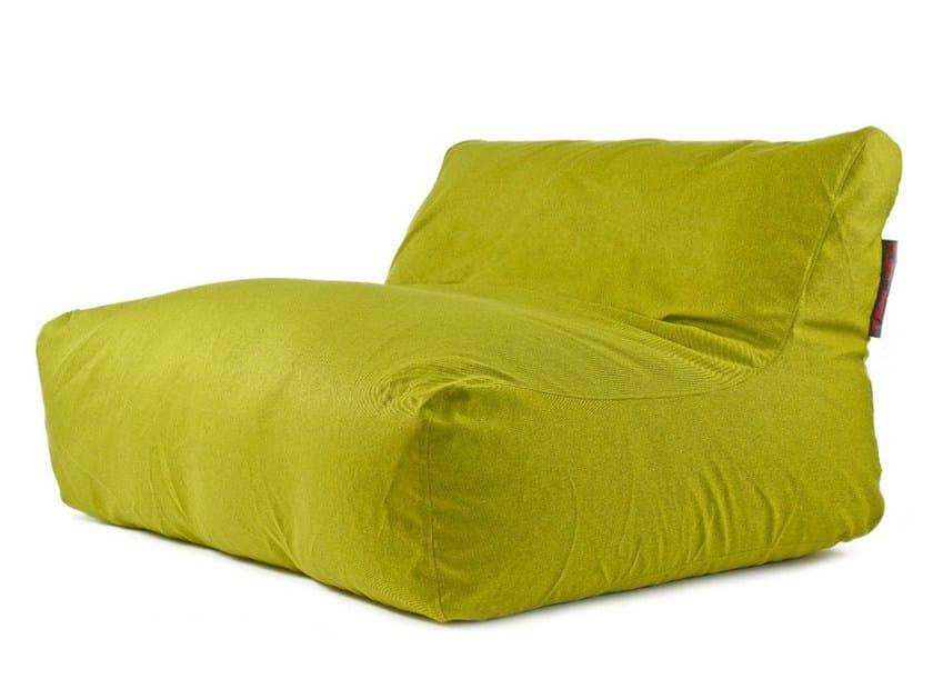 Double fabric garden armchair SOFA LOUNGE NORDIC - Pusku pusku