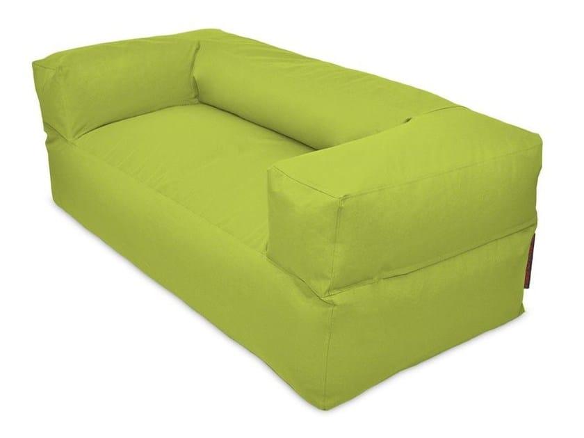 2 seater fabric sofa with removable cover SOFA MOOG OX - Pusku pusku