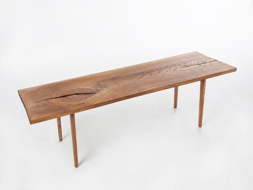 Tavolo da pranzo rettangolare in quercia SOFA TABLE - AGUSTAV