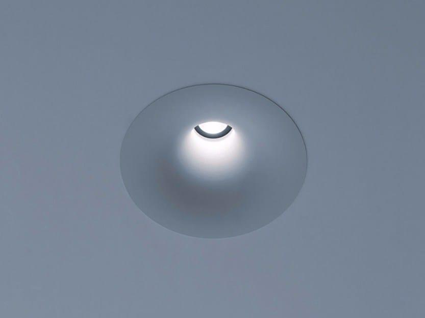 LED recessed spotlight SOFFIO by DAVIDE GROPPI
