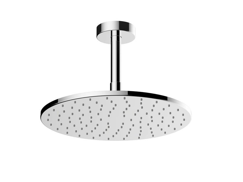 Ceiling mounted chromed brass overhead shower DBX113-1CAMVE | Ceiling mounted overhead shower - TOTO