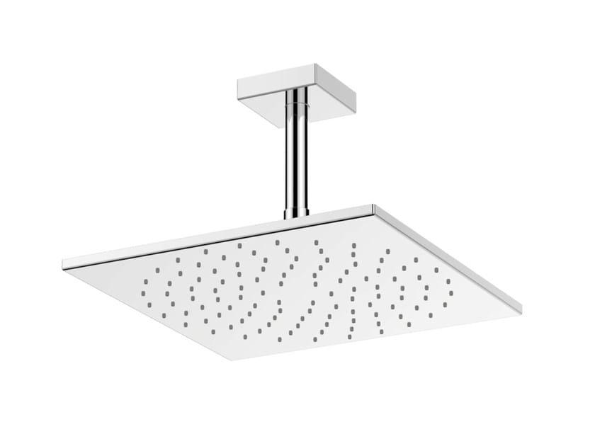 Ceiling mounted chromed brass overhead shower DBX114-1CAMVE | Ceiling mounted overhead shower - TOTO