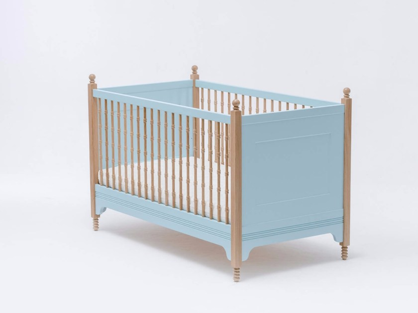 Lacquered cot SOFIA CRIB by ST FURNITURE