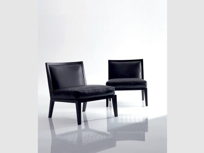 Leather easy chair SOFIA | Leather easy chair - Marac