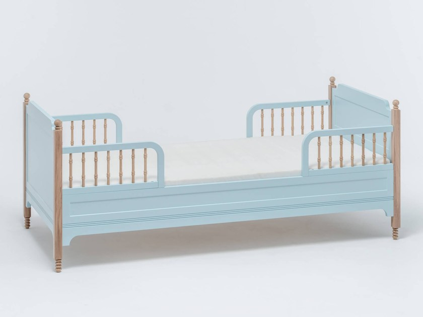 Lacquered bed for kids' bedroom SOFIA TODDLER BED - ST FURNITURE