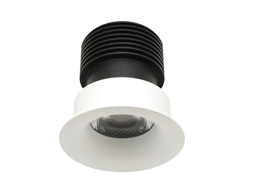 LED round recessed aluminium spotlight SOFT by LED BCN