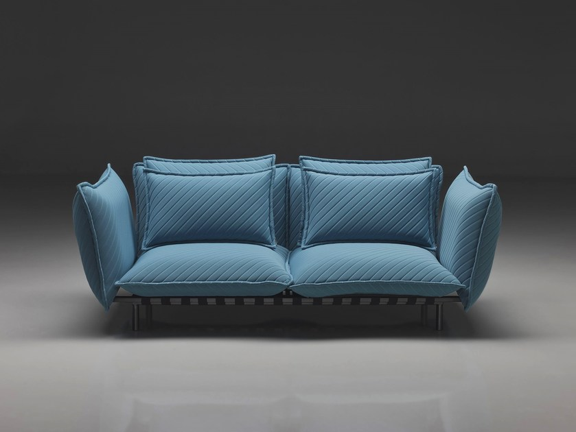 Contemporary style 2 seater 3 seater upholstered fabric sofa SOFT | Sofa - mminterier