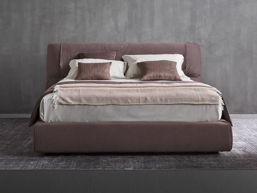 Softwing letto by flou design carlo colombo - Testiere letto imbottite ...