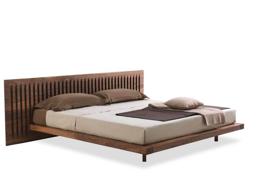 Multi-layer wood double bed SOFTWOOD | Bed - Riva 1920