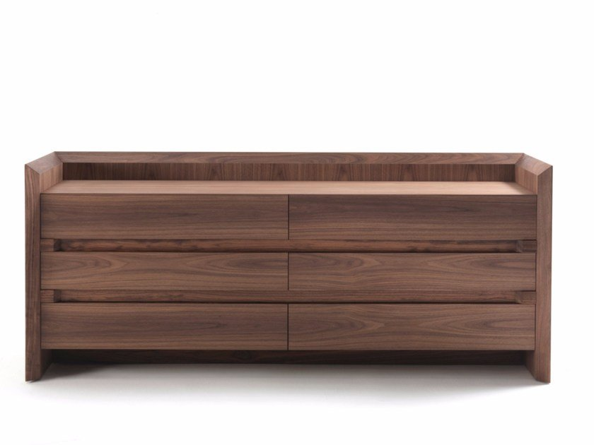 Solid wood sideboard with doors and drawers SOFTWOOD | Sideboard - Riva 1920