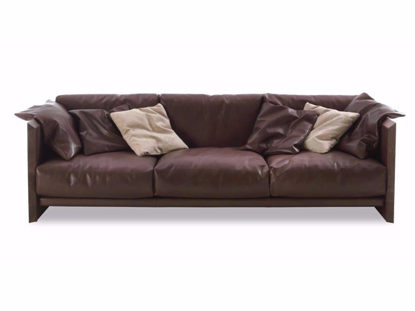 Leather sofa SOFTWOOD | Sofa - Riva 1920