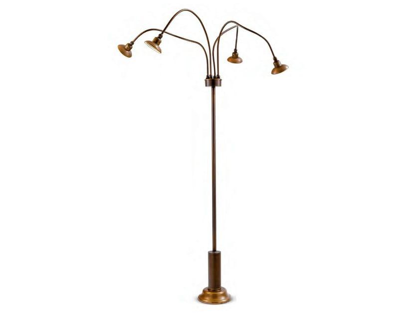 Brass Floor lamp SOIR 1 - Aldo Bernardi