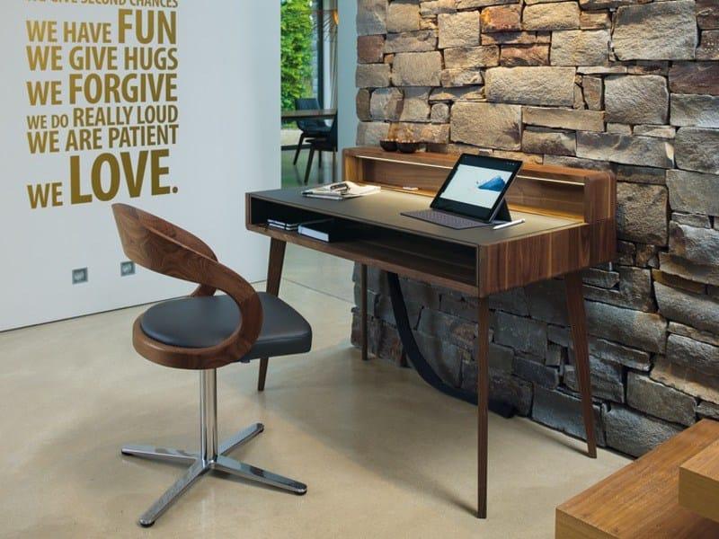 Wooden secretary desk SOL | Secretary desk - TEAM 7 Natürlich Wohnen