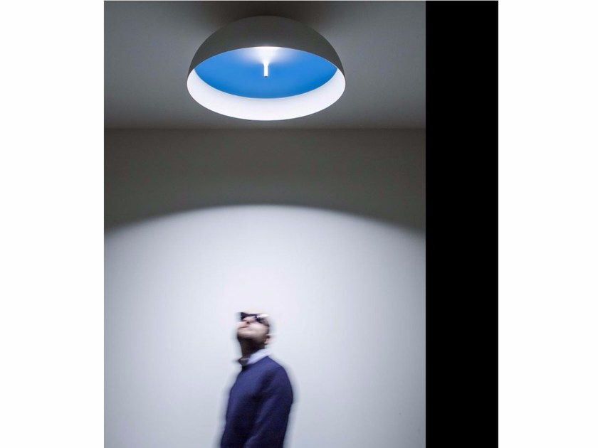 LED adjustable ceiling lamp SOLEMIO - DAVIDE GROPPI