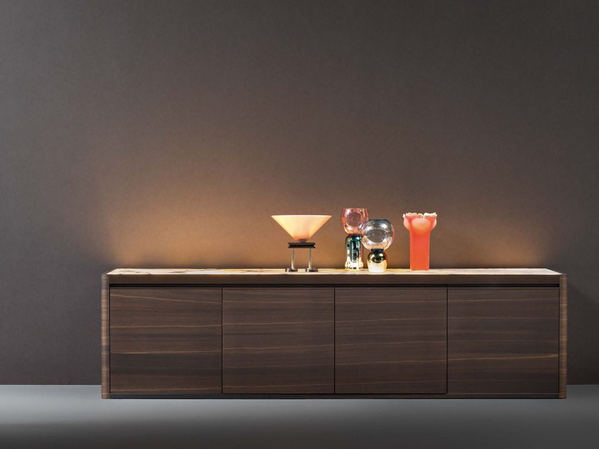 Sideboard with integrated lighting SOLIDA | Sideboard by Natevo