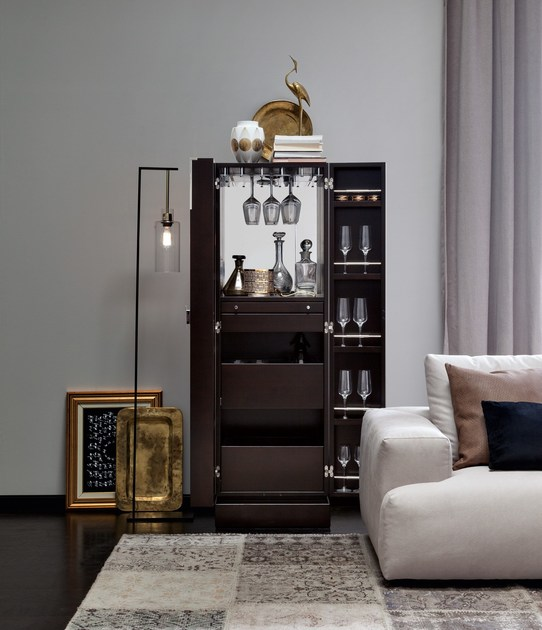 solitaire barschrank by selva. Black Bedroom Furniture Sets. Home Design Ideas
