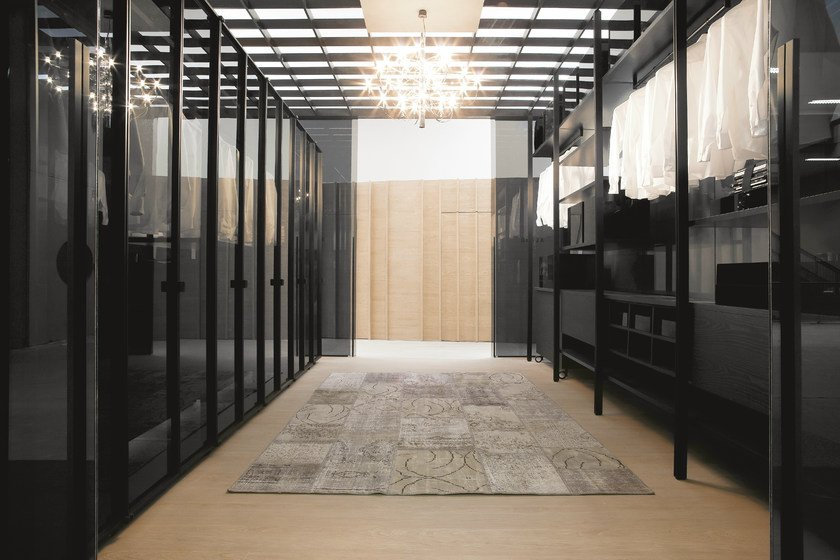 Walk-in wardrobe SOLO | Walk-in wardrobe - ALBED by Delmonte