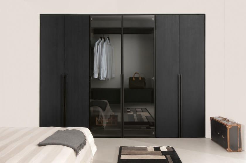 Wooden walk-in wardrobe SOLO   Walk-in wardrobe - ALBED by Delmonte